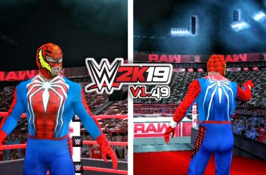 Rey Mysterio Spiderman Attire